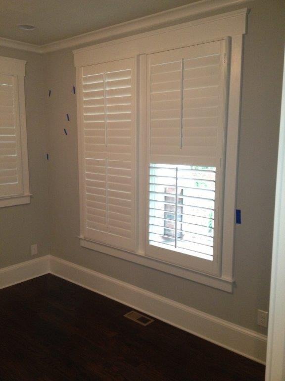 Custom interior shades in Cumming GA from Purdy Flooring & Design