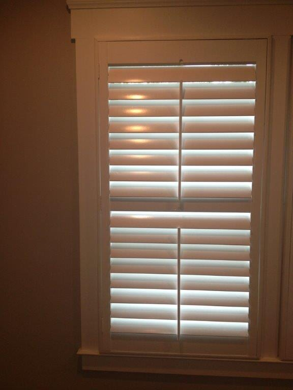 Wooden shades in Buford GA from Purdy Flooring & Design
