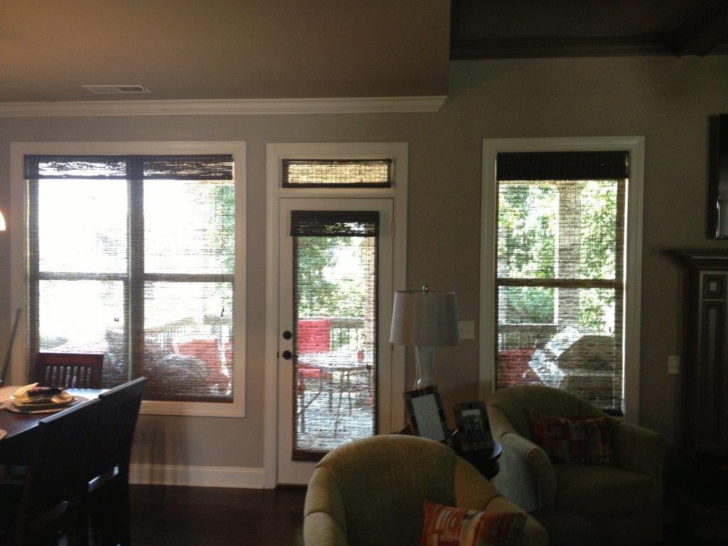 Custom window shades in Suwannee GA from Purdy Flooring & Design