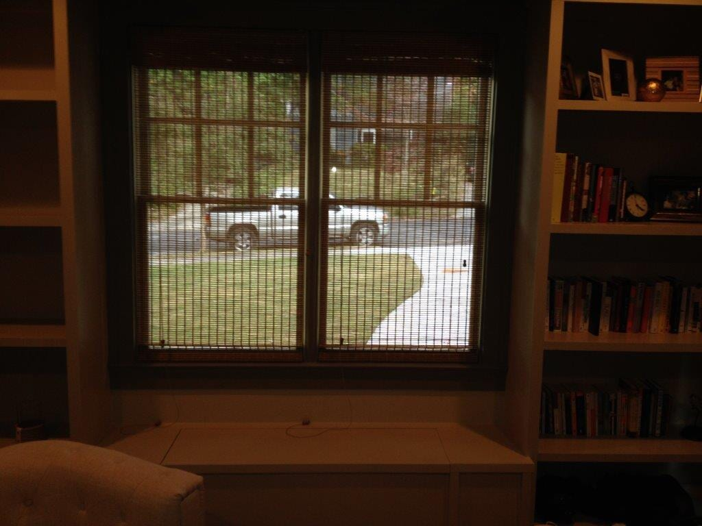 Custom window shades in Cumming GA from Purdy Flooring & Design