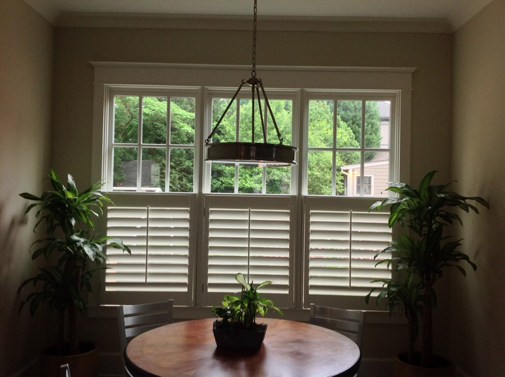Custom shutters in Braselton GA from Purdy Flooring & Design