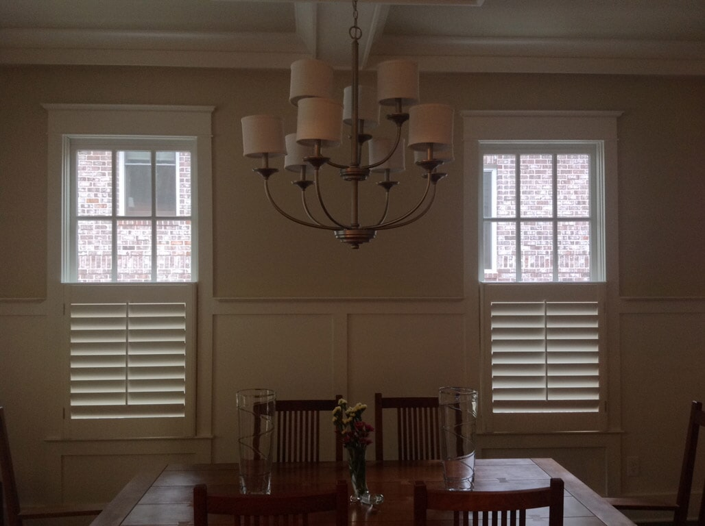 Custom shutters in Gainesville GA from Purdy Flooring & Design