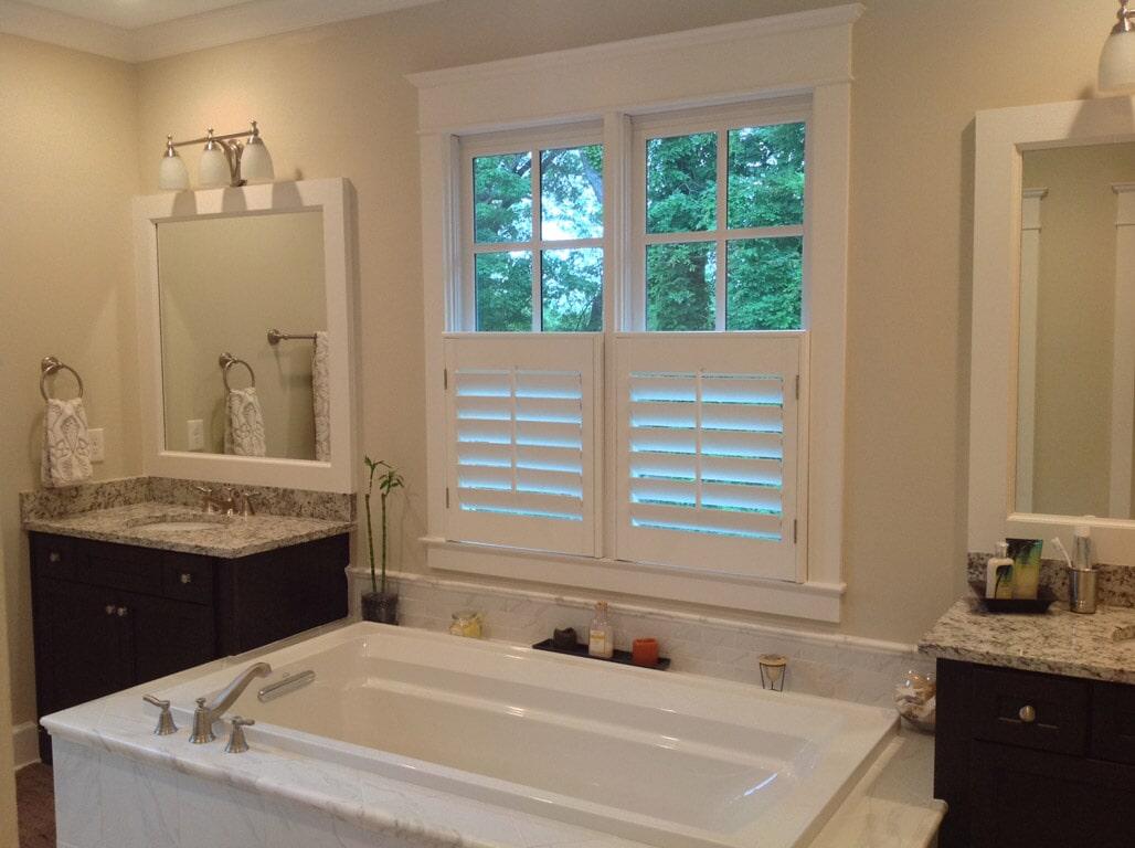 Custom window shutters in Suwannee GA from Purdy Flooring & Design