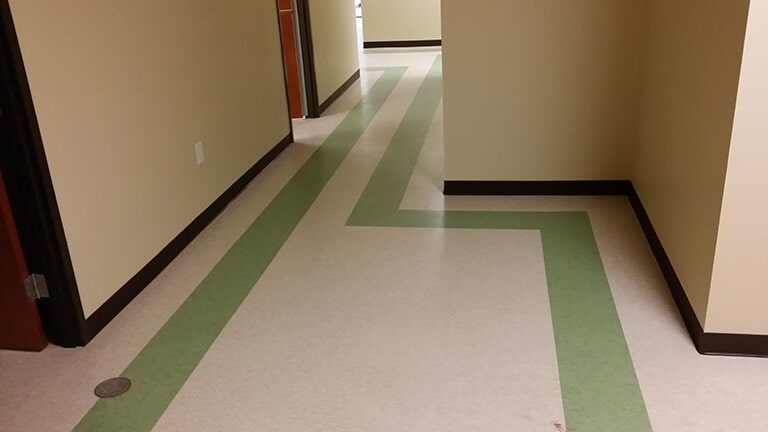 Commercial flooring installation near Suwannee GA by Purdy Flooring & Design