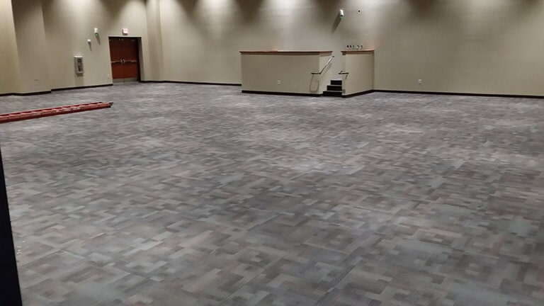 Commercial carpet tiles near Braselton GA by Purdy Flooring & Design