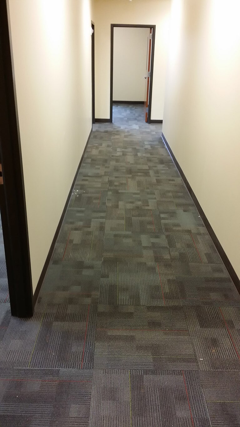 Office carpet tiles in Suwannee GA by Purdy Flooring & Design