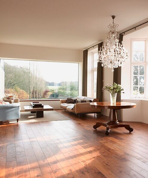 Modern hardwood floors in Dyersburg TN from Premier Floor Center