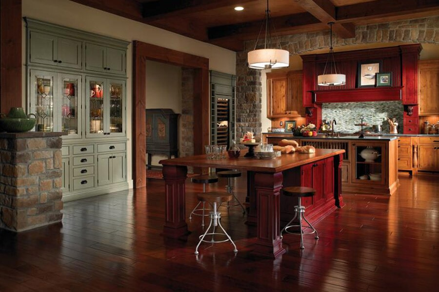Custom kitchen cabinets in Sarasota FL from Manasota Flooring