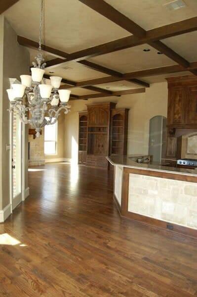 Hardwood floors in Colleyville TX by Masters Flooring