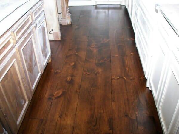 Reclaimed wood floor installation in North Ridgeland Hills TX by Masters Flooring