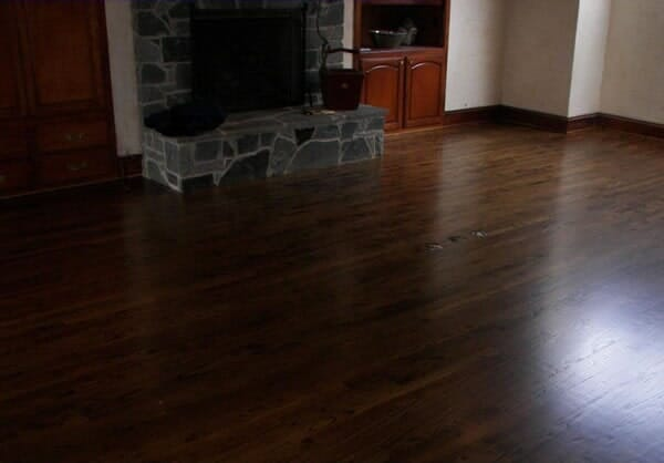 Hardwood floor installation in Fort Worth TX by Masters Flooring