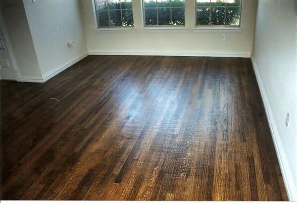 Reclaimed wood floors in Southlake TX by Masters Flooring