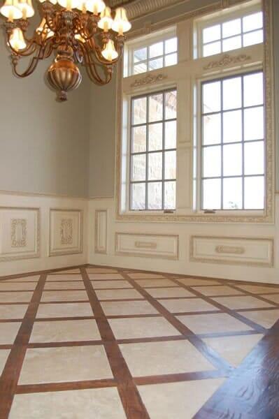 Custom hardwood floors in Colleyville TX by Masters Flooring
