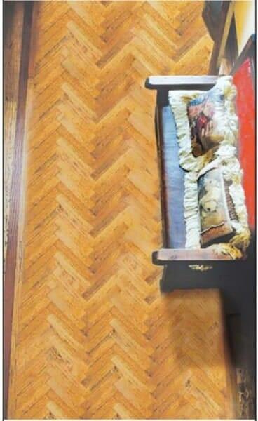 Custom herringbone wood floor installation in Southlake TX by Masters Flooring