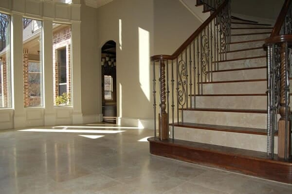 Staircase installation in Keller TX by Masters Flooring