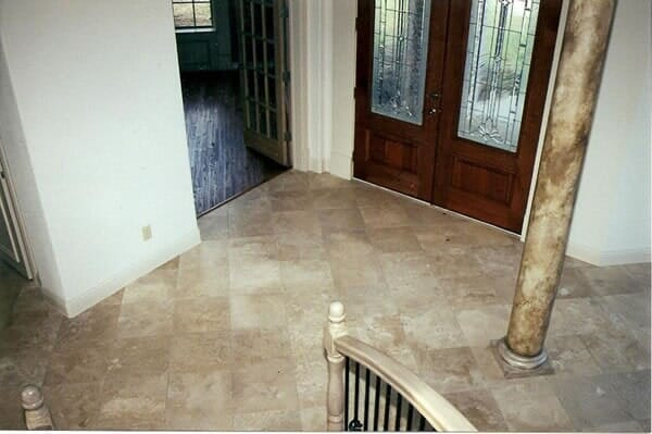 Staircase installation in Fort Worth TX by Masters Flooring