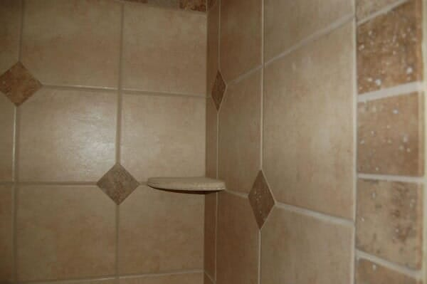 Shower tile installation in Fort Worth TX by Masters Flooring