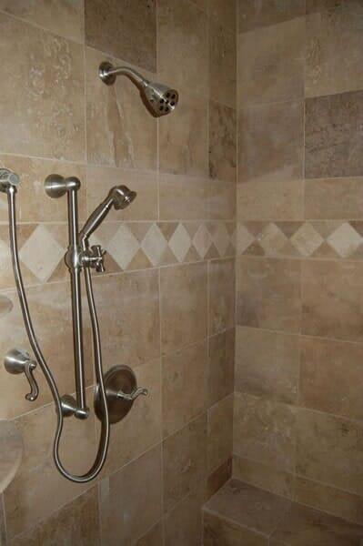 Custom tile bathroom in Colleyville TX by Masters Flooring
