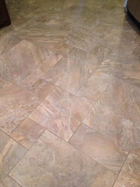 Tile floor installation in Colleyville TX by Masters Flooring
