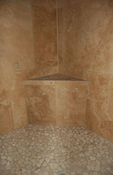 Custom tile shower in Keller TX by Masters Flooring