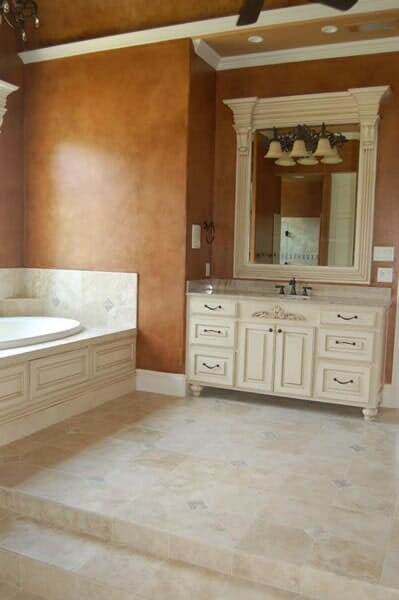 Custom tile work in Fort Worth TX by Masters Flooring