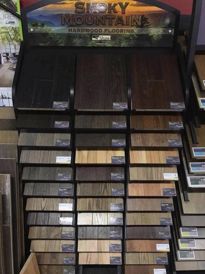 Hardwood flooring store near Pasco WA - Luke's Carpet & Design Center