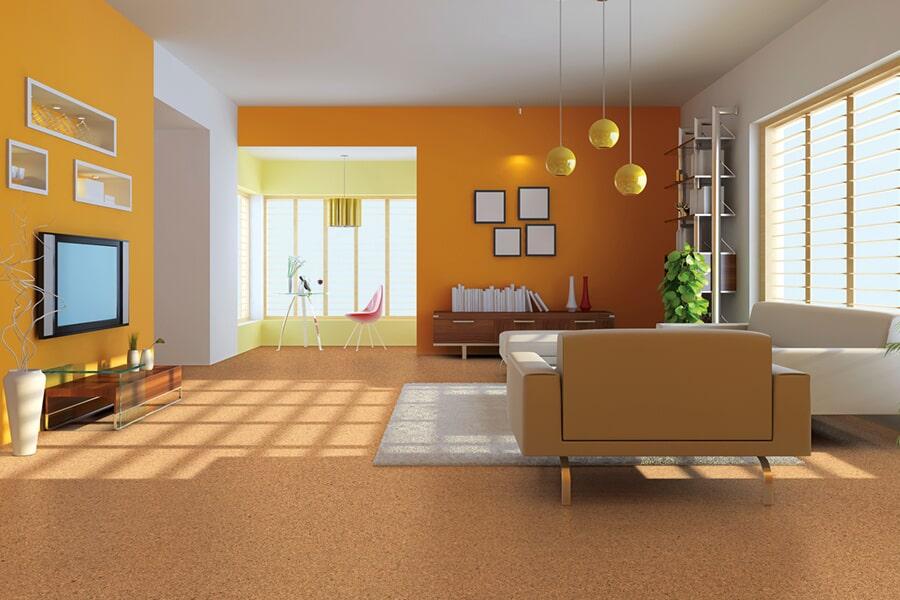 Cork flooring trends in Lexington KY from Oser Paint & Flooring