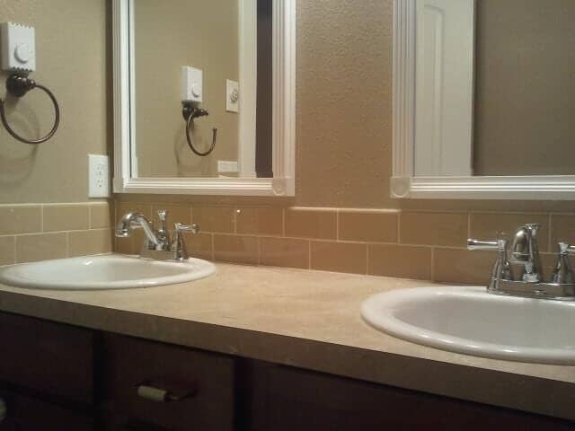 Bathroom tile installation in Puyallup WA by Hillside Floor Covering