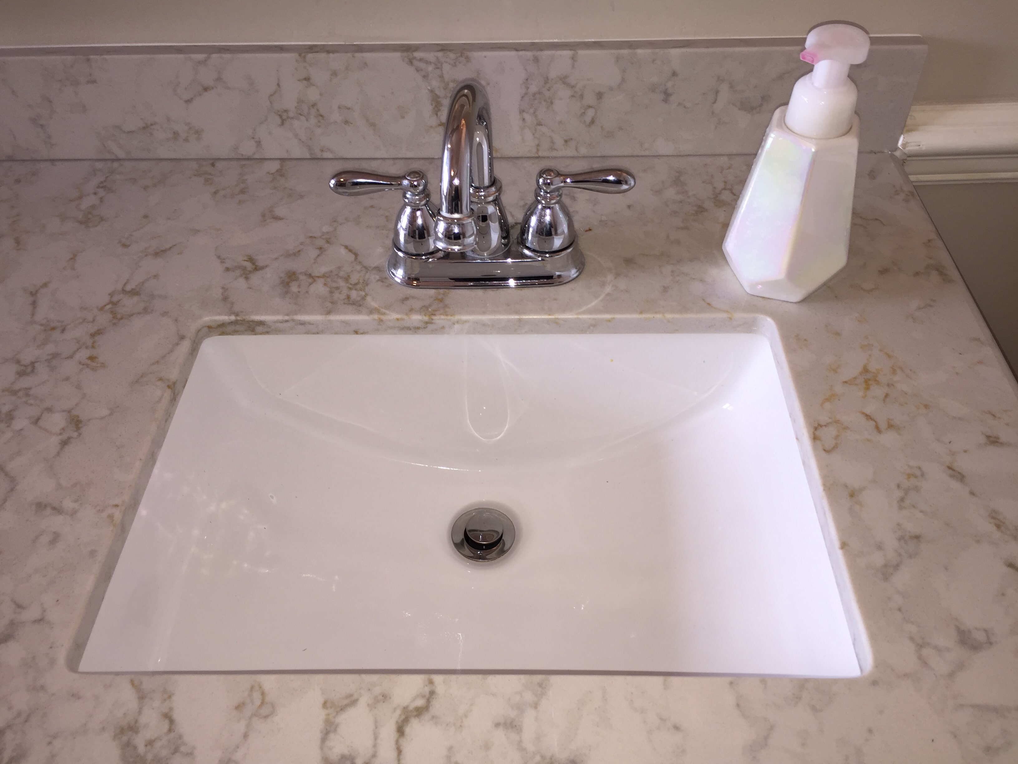 Bathroom sink in Lucama NC from Richie Ballance Flooring