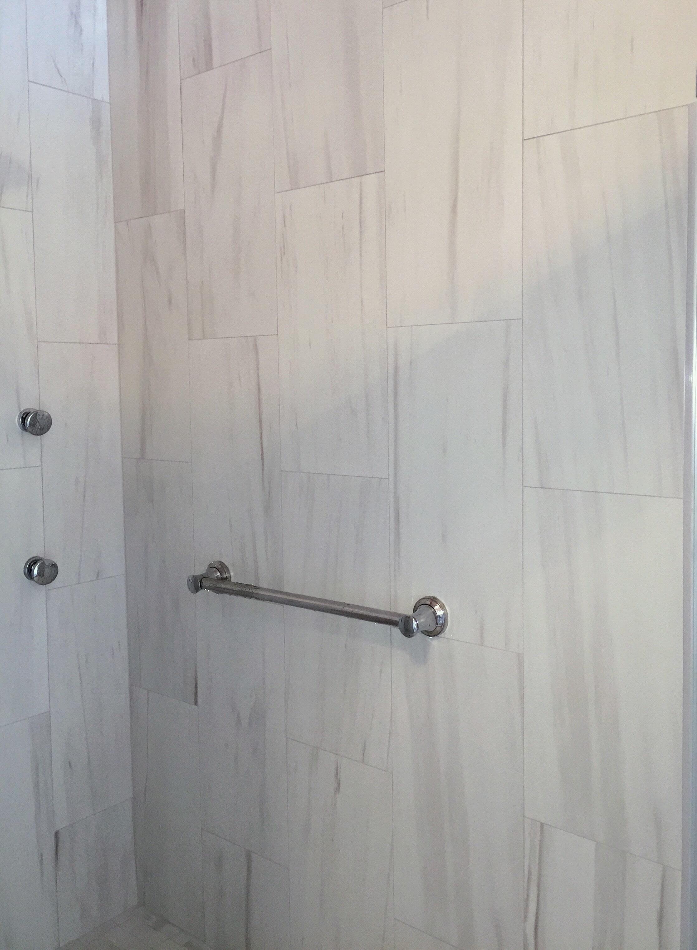 Tile shower in Wilson NC from Richie Ballance Flooring