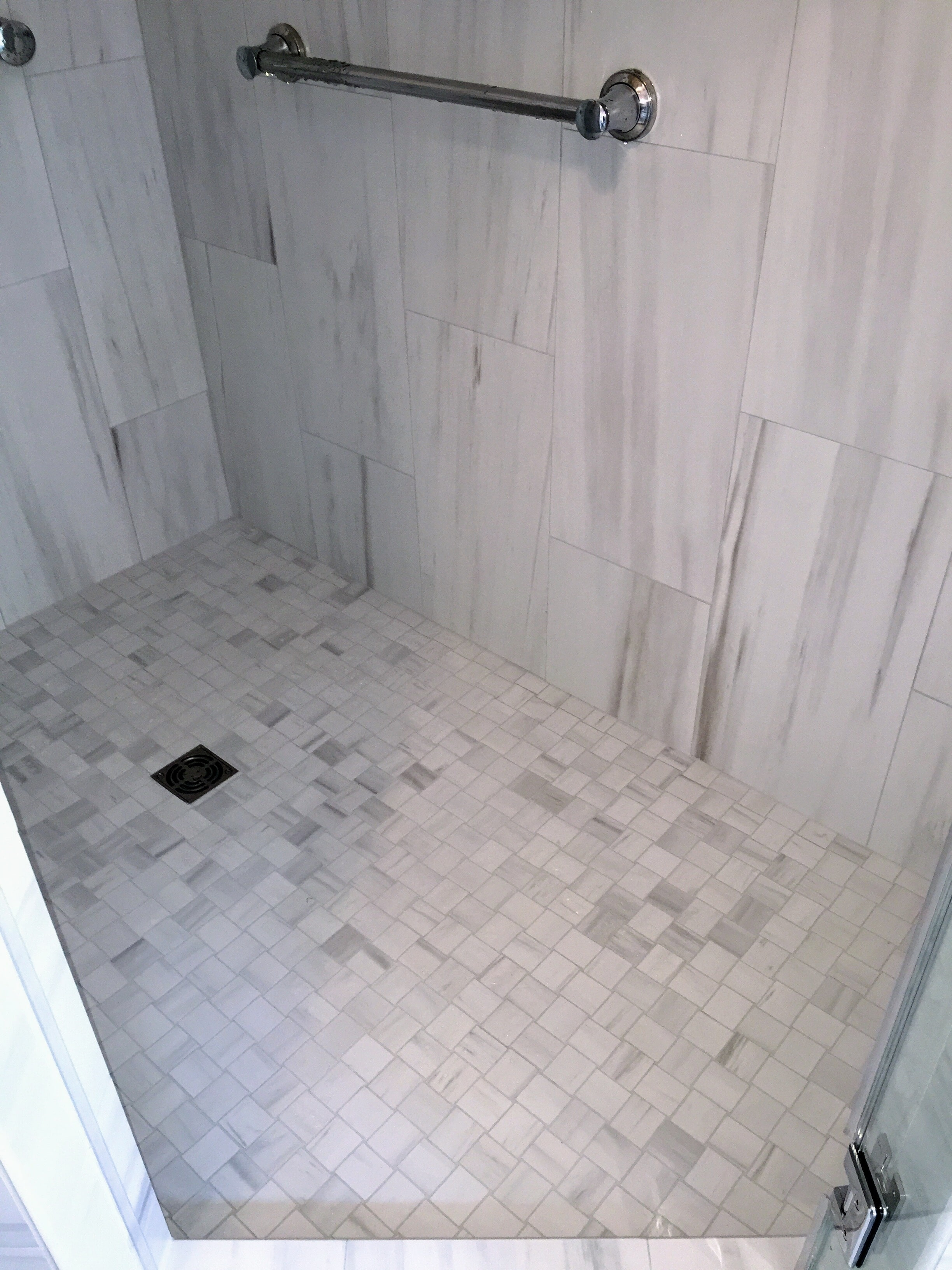 Tile shower floors in Bailey NC from Richie Ballance Flooring