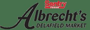 Sentry, Albrecht's Delafield Market Logo