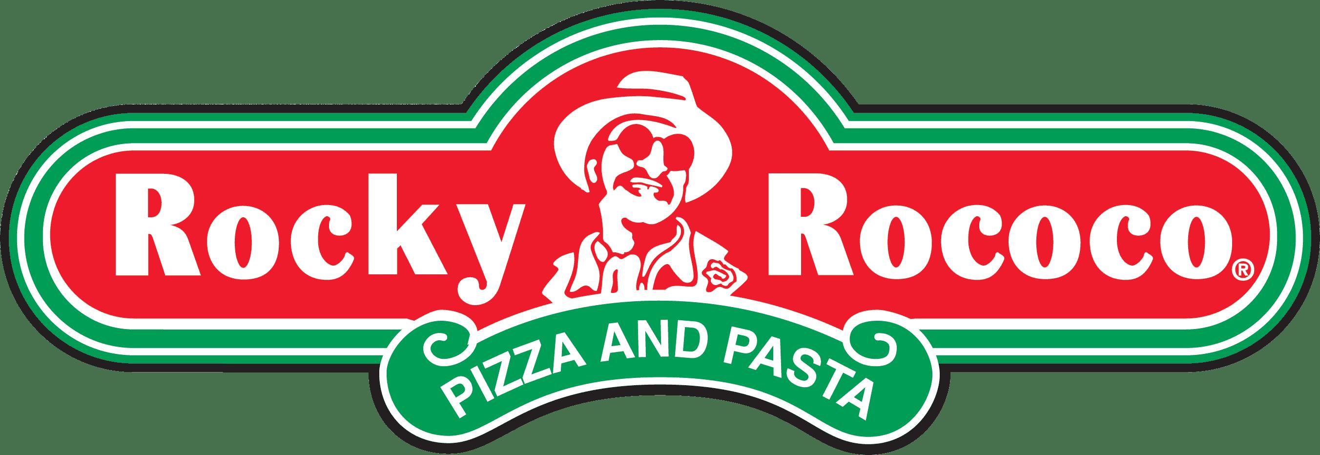 Rocky Rococo Pizza and Pasta Logo