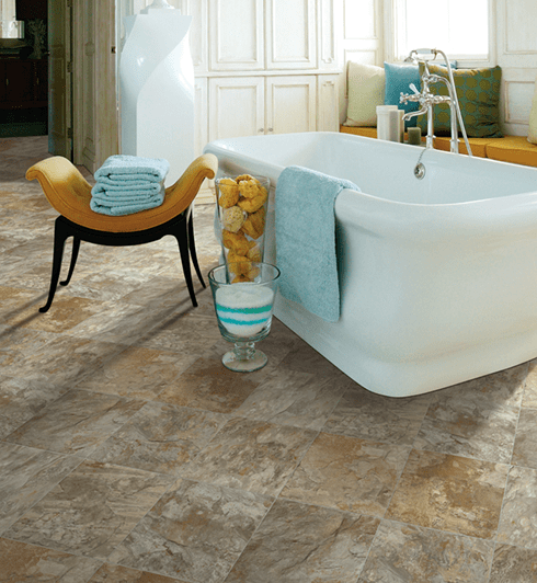 Luxury vinyl tile (LVT) flooring in Ocala FL from Ocala Carpet & Tile