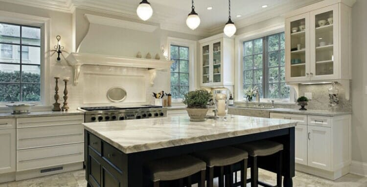 Granite countertops in Sacramento CA from Palm Tile & Stone Gallery