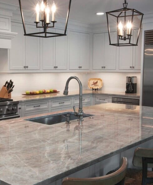 Granite countertops in Folsom CA from Palm Tile & Stone Gallery