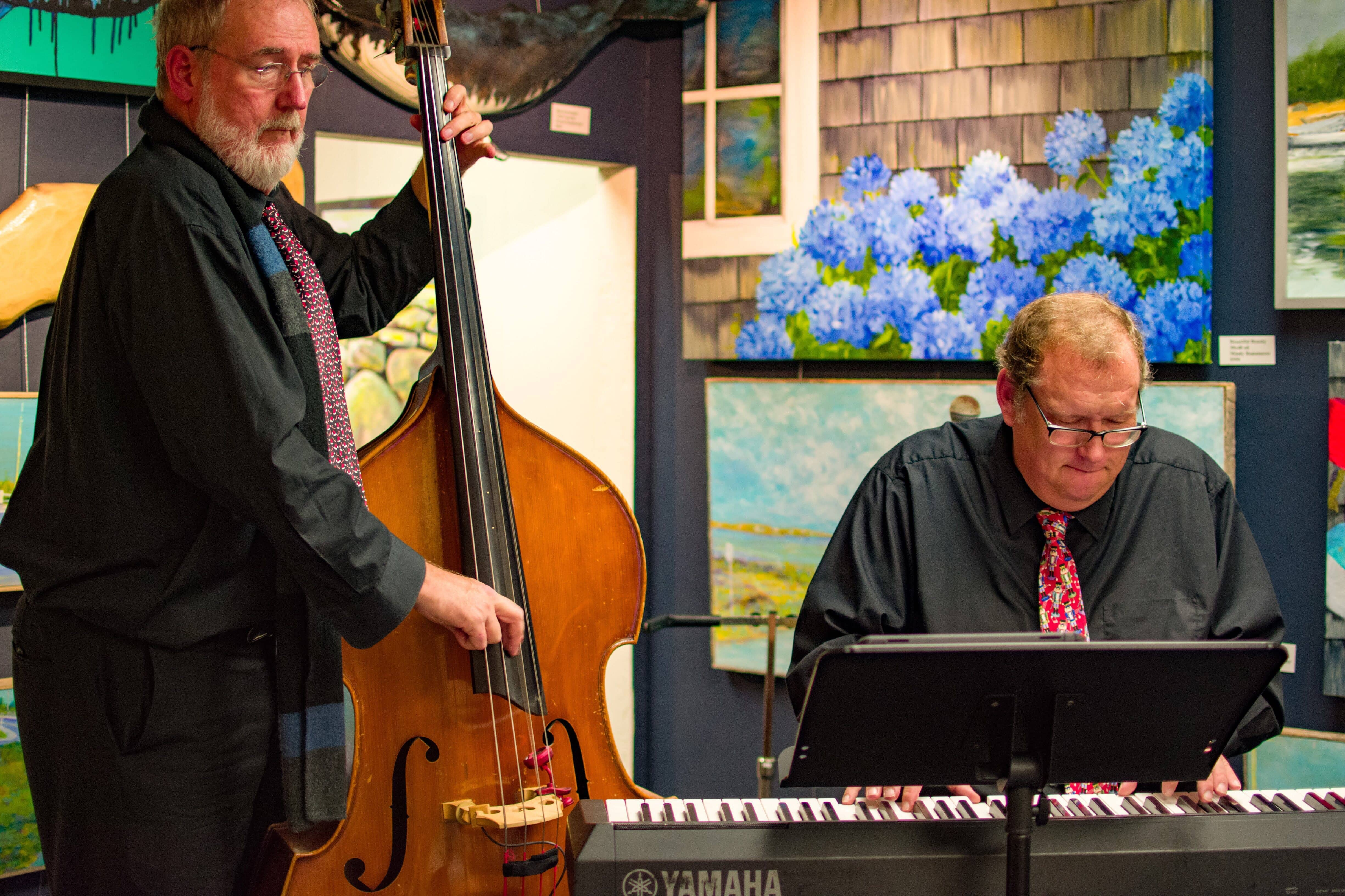 Bass and Piano, The Gallery on Main, Falmouth, MA