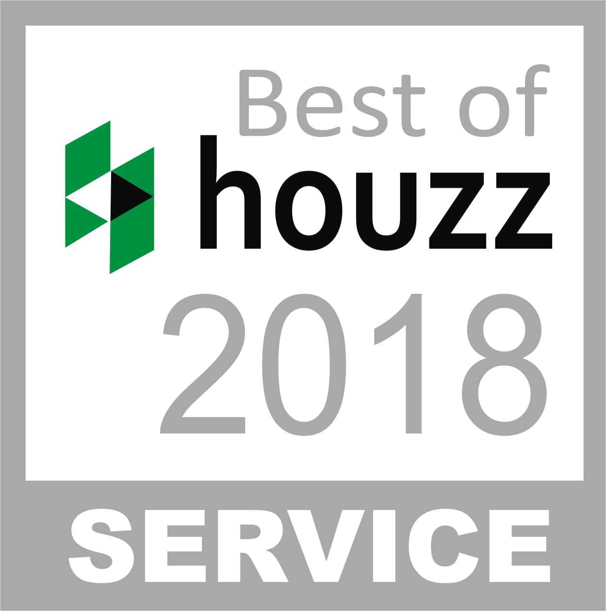 Carpetland in Stockton & Modesto CA received the Best of Houzz award for 2018