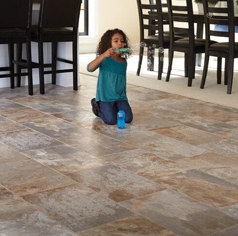 Family friendly tile in Tucson AZ from Apollo Flooring