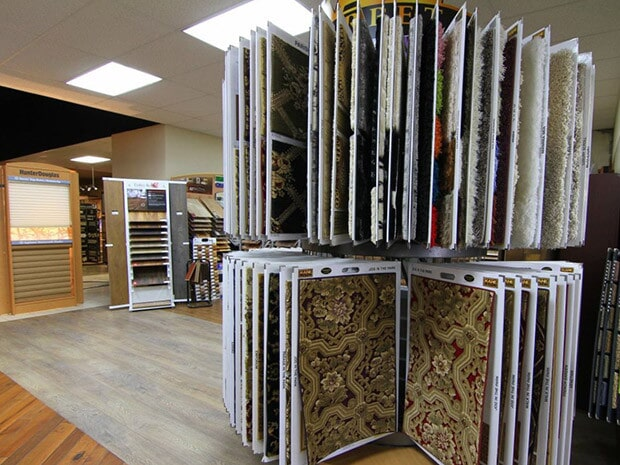 A lot of carpet samples in Redlands CA from Fair Price Carpets