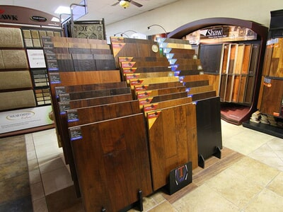 Hardwood samples in Ontario CA from Fair Price Carpets