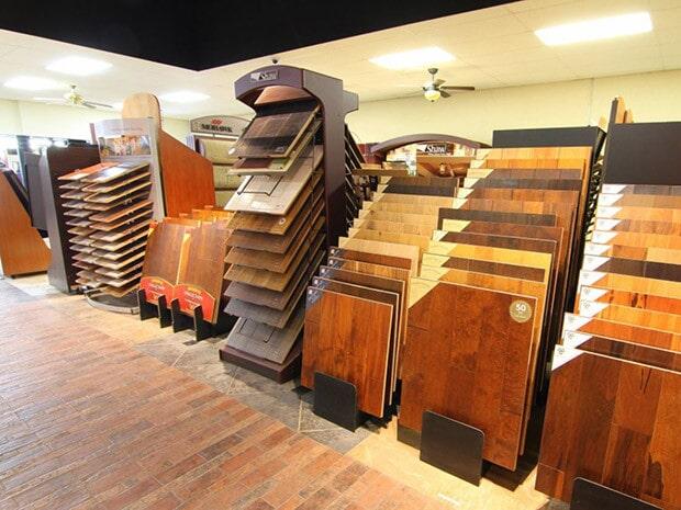Hardwood floor samples in Ranch Cucamonga CA from Fair Price Carpets