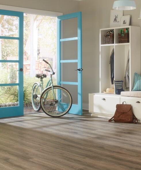 Durable laminate floors in Riverside CA from Fair Price Carpets