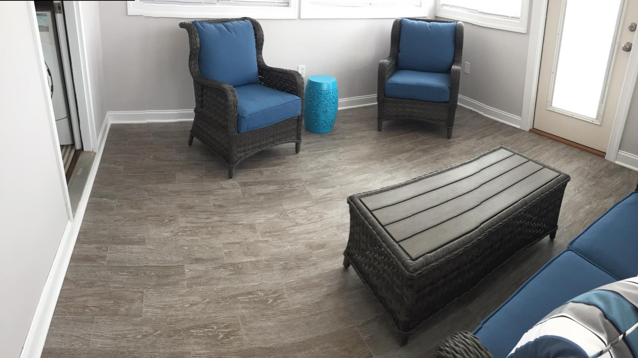 Luxury tile floors in Kenley NC from Richie Ballance Flooring