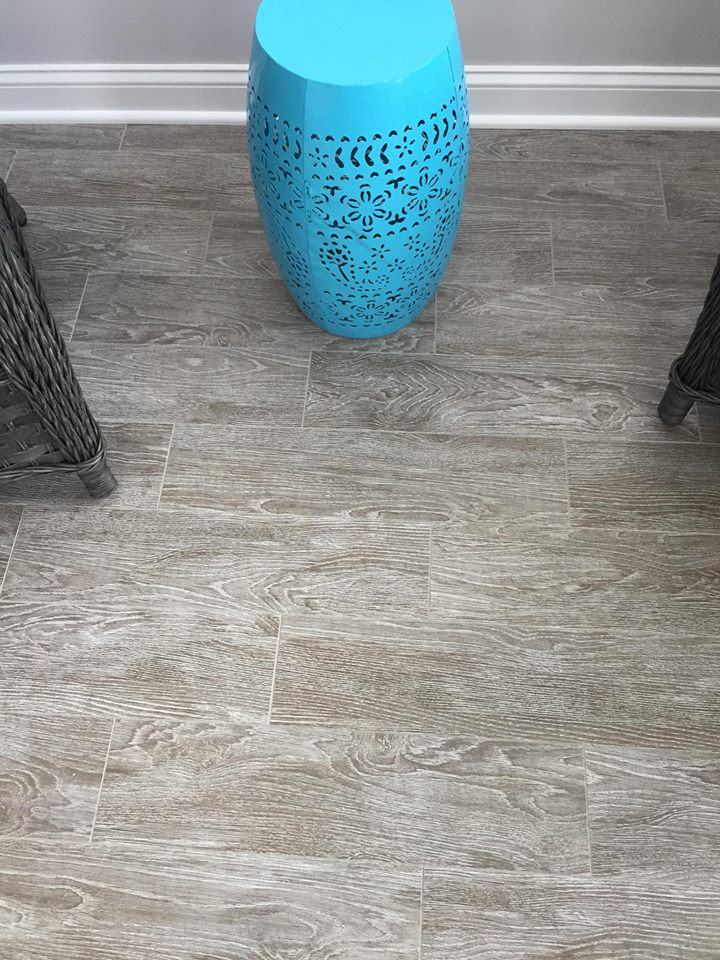 Wood look tile in Lucama NC from Richie Ballance Flooring