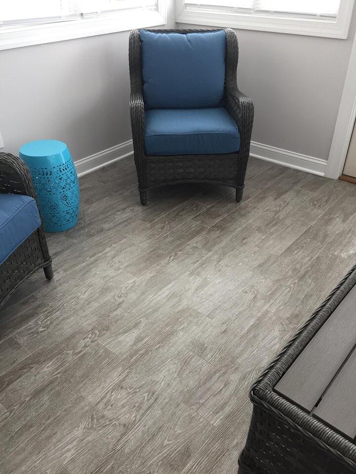 Tile floor installation in Wilson NC from Richie Ballance Flooring