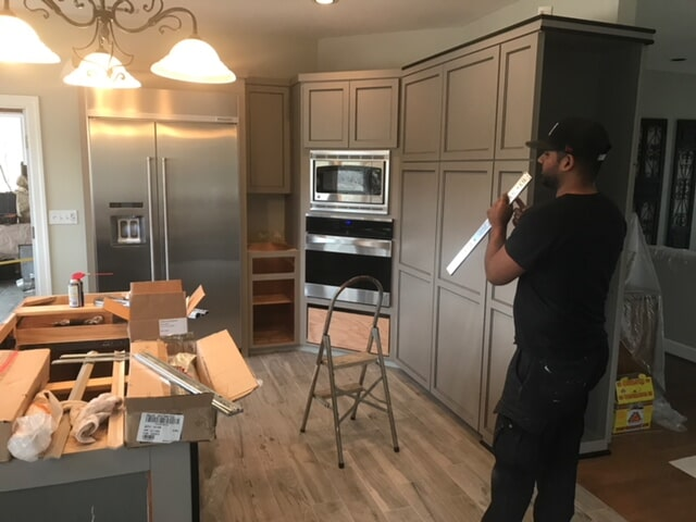 Kitchen cabinet refacing in Marietta, GA from Select Floors