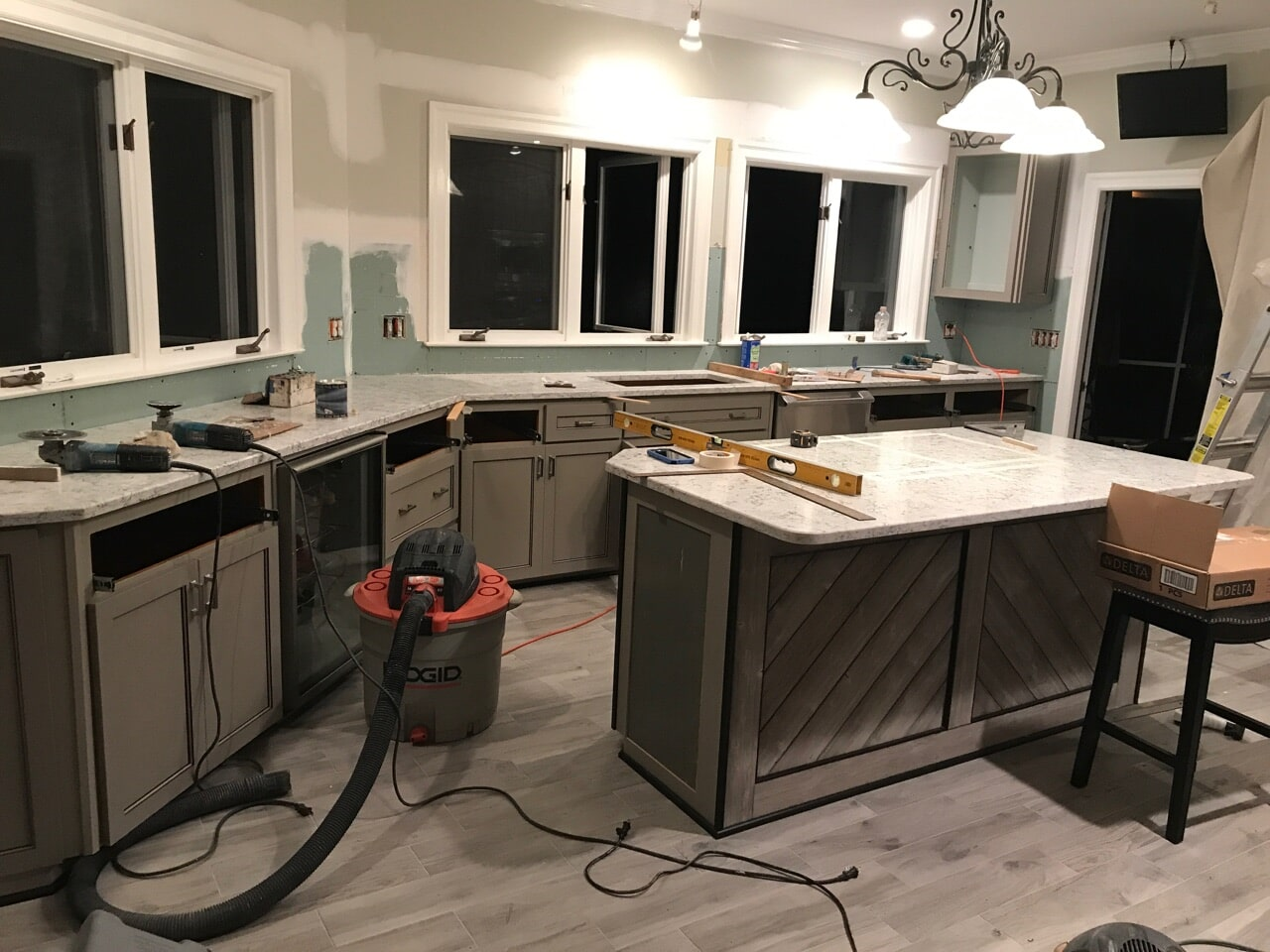 Kitchen cabinet refacing in Roswell, GA by Select Floors