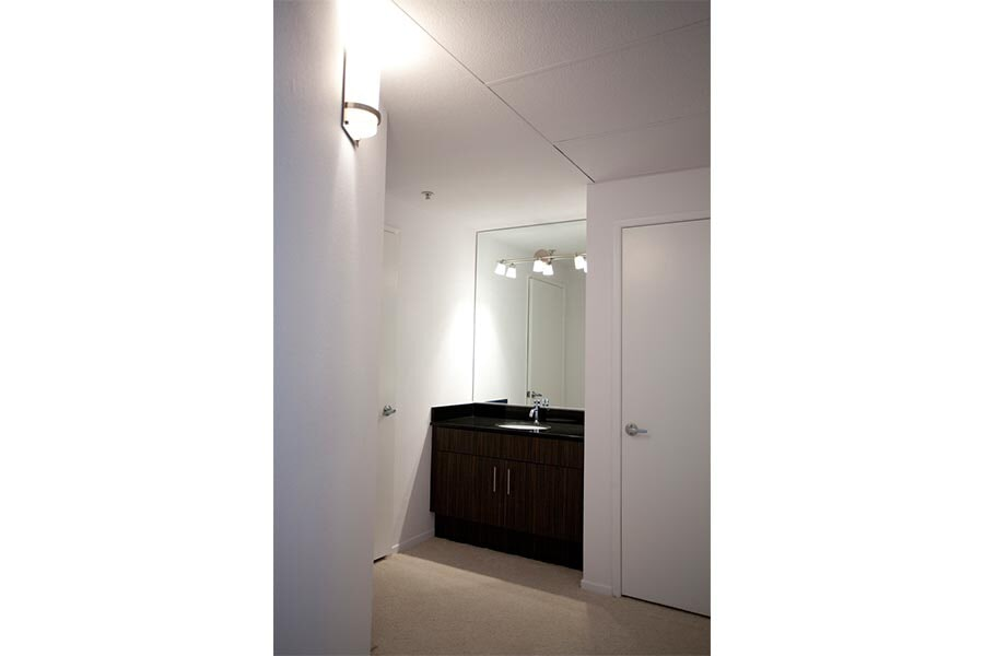 Apartment bathroom remodeling in Irvine CA from Elci Cabinets & Floors