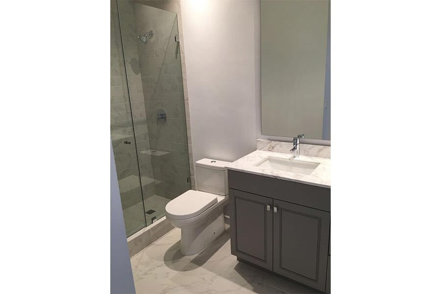 Apartment bathroom remodeling in Orange CA from Elci Cabinets & Floors